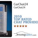 CarChat 24 wins Top Rated Dealer Satisfaction Award 2010 – Driving Sales