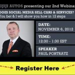 Webinar: Does Social Media Sell Cars?