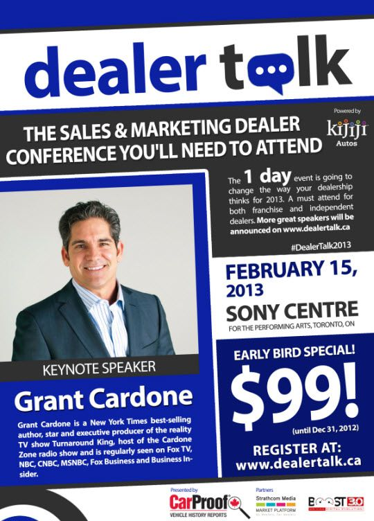 DEALER TALK FLYER
