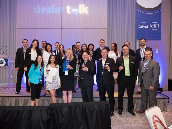 Team after Dealer Talk Toronto